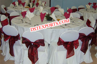 Wedding New Chair Cover With Sashas