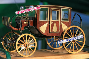 Wedding Brown Horse Buggy
