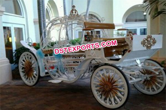 Royal Wedding Cinderella Horse Carriage
