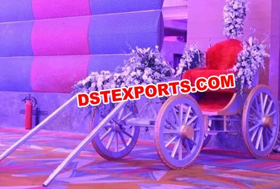 Hand Driven Bride Entry Carriage