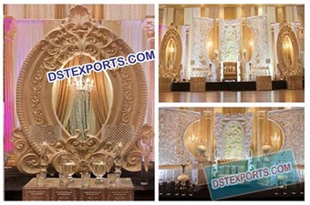 Wedding Stage Grand Panels Backdrop