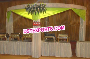 Decorated Wedding Stall