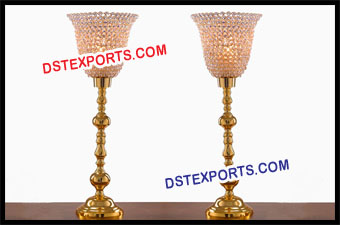 Wedding Golden Table Center Piece Decoration