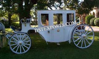 The Glass Wedding Carriage