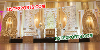 Elegent Wedding Stage Backdrop Set