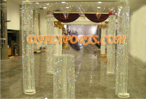 Wedding New Crystal Pillar