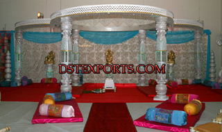 Wedding New Crystal Bottle Mandap