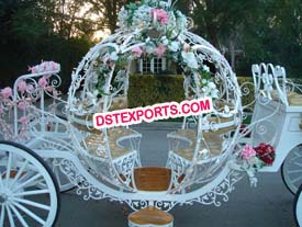 Wedding Cinderella Horse Buggy Carriage