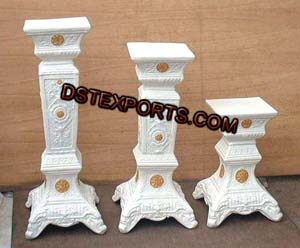 Wedding New Design Fiber Pillars