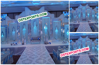 Wedding Crystal Backdrop Panel Stage Decors
