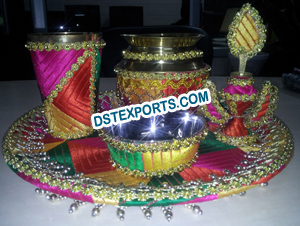 Punjabi Wedding Phulkari Decoration Accessories