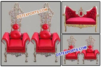 Latest Design Wedding Bride Groom Chairs