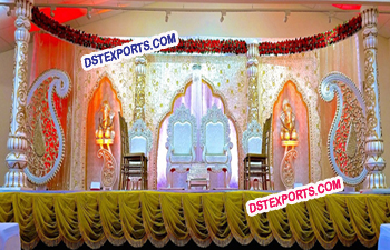 Asian Wedding Lavish Stage Set