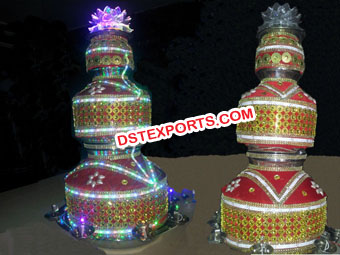 Punjabi Wedding Decorated Led Jagos