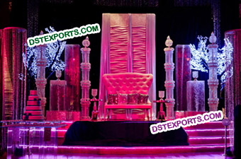 Asian Wedding Fabulous Crystal Stage