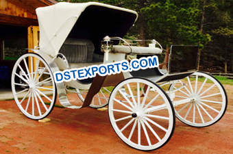 Royal Horse Drawn Victoria Buggy