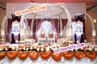 Indian Wedding Tusk Style Mandap Set