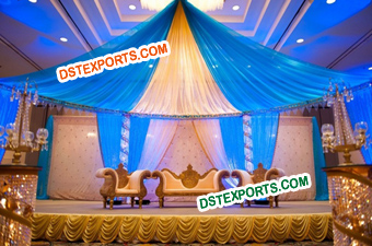 Best Crystal Wedding Stage Decoration