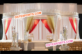 Gorgeous Wedding Decoration Indian Mandap