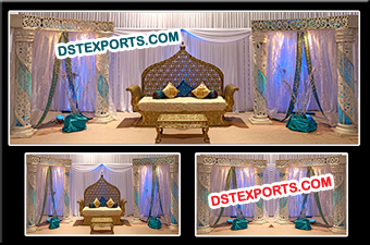 Jodha Akber Stage Set Decorations