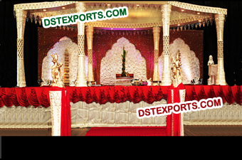 Indian Wedding Plazo Mandap Set