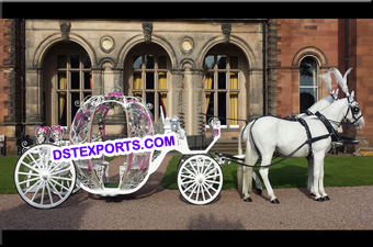 Royal Horse Drawn Cinderella Buggy Carriage