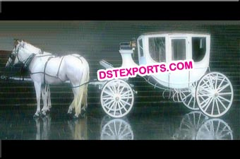 Horse Drawn Air conditioned Carriage Buggy