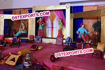 Punjabi Decoration Theme Stage
