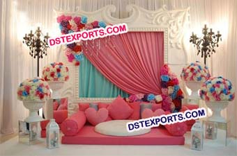 Modern Wedding Stage/ Fiber Panel Wedding Stage