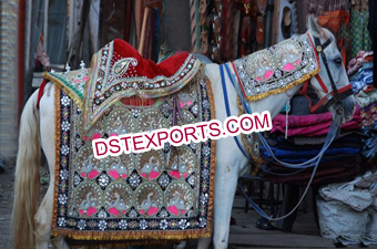 Indian Wedding Peacock Horse Howdah