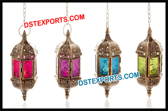 Beautiful Hanging Moroccan Lamps