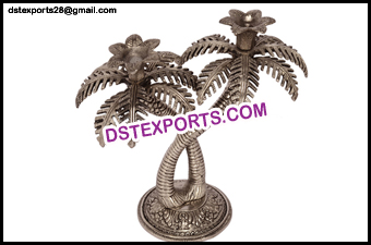 Indian Wedding Metal Candle Stand For Decoration