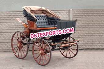 Antique Horse Drawn Small Carriage