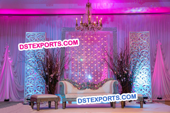 Wedding Fiber Backdrop Panels Decoration