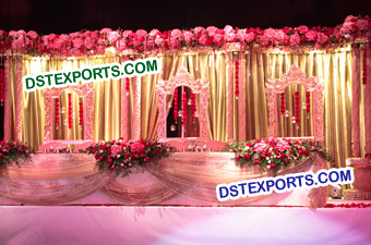 Beautiful Fiberglass Panels for Wedding Stages
