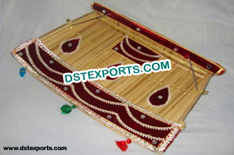 Punjabi Wedding Decorated Chaj