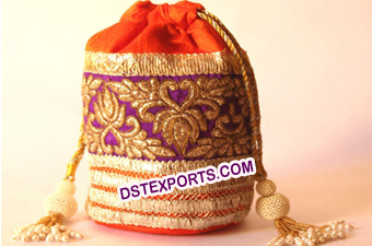 Ladies Fancy Gift Potli Bags