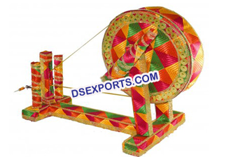 Wedding Decorated Charkha
