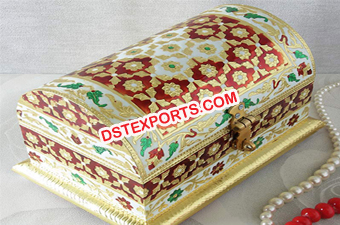 Wedding Meenakari Money Box