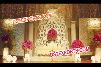 Wedding Fiber Panels Backdrop