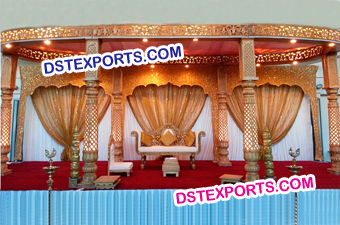 New Design Dulhan Indian Wedding Mandap
