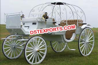 Wedding Horse Drawn Cinderella Carriage