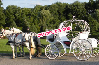 Wedding Pumpkin Cinderella Carriage
