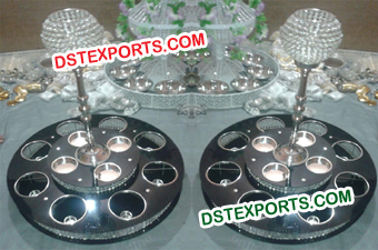 Crystal Lazy Susan Turntables
