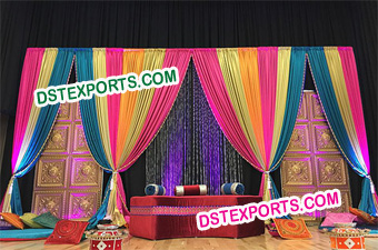 Wedding Mehandi Sangeet Stage