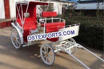 Europe Wedding Antique Horse Carriage