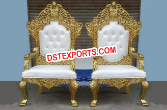 Wedding Royal Bride Groom Chairs