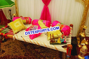Punjabi Wedding Maiyan Decoration