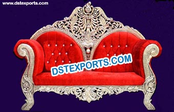 New Wooden Carved Sofa Couch
