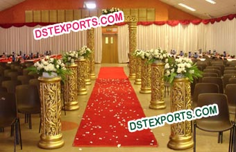 Small Jali Pillar for Mandap